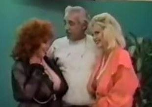Vintage FFM Triumvirate With Mature Women