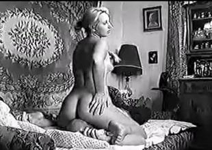 Katyusha - Soviet lady amatorial pussy-smothering
