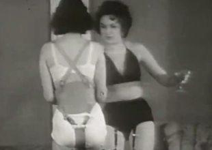 Bonny Girls in Underwear in Kinky Activity