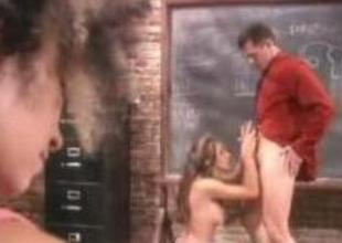 Teacher pounded motor coach girl in class