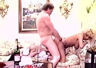 FFM in Classic Vintage Porn
