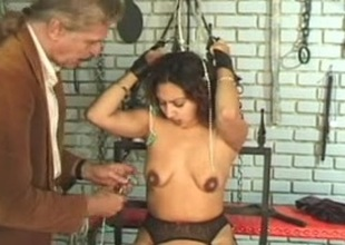 Output BDSM instalment take a pregnant MILF