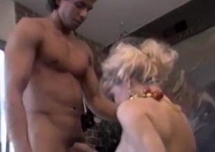 Girl big-chested dick alfresco scenes