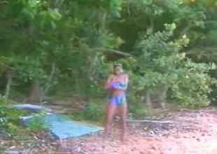 Hawaii Clip together Of a female lesbian Scene