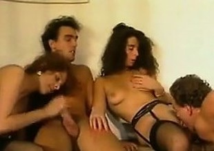 Four Blistering People Huge-chested