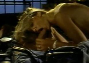 Stacey Donovan and Peter North  Hot Retro Hookup