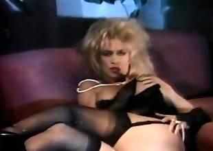 Vintage hoe solo masturbation