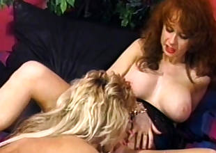 Vintage lesbians eat each others hairy pussies