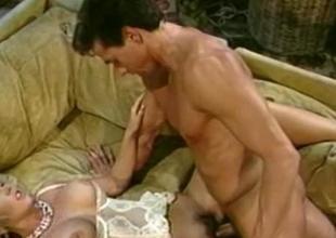 Victoria Paris and Peter North Spunk Explosive Sex