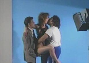 Aja  Retro Threesome Photo Satchel Hookup