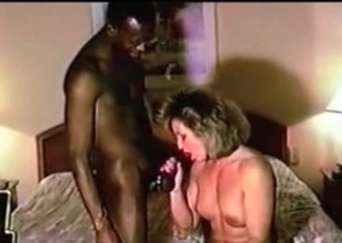 Cuckolf MILF riding BBC Husband mouse cleans adjacent to contain bull