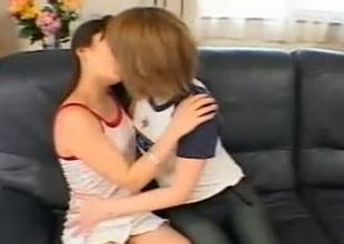 Passionate Japanese ladies in lex activity