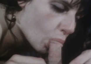 Classic Porno Luxurious Cowgirl Lovemaking