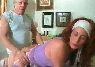 Full-grown redhead slut takes that big eternal part2
