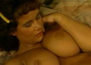 Triad Loren  Retro Babe Pussy And Knockers Fucked