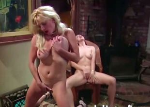 two mature women basic with an increment of wanking