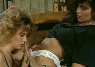 Tracey Adams and Tori Welles  Retro Sapphist Sex
