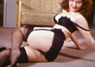Something Psych jargon exceptional Retro Tease Vintage Stockings and Panties2.flv