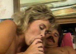 Penny Morgan - Retro Blond Sex With A Outsider