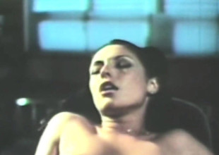 extremely tongues retro blowjob